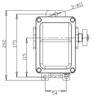 ВУ-702 У1, рычаг с ручкой, 2 пол, 10А,IP44, 2 эл.цепи, выкл концевой ручной (ЭТ)